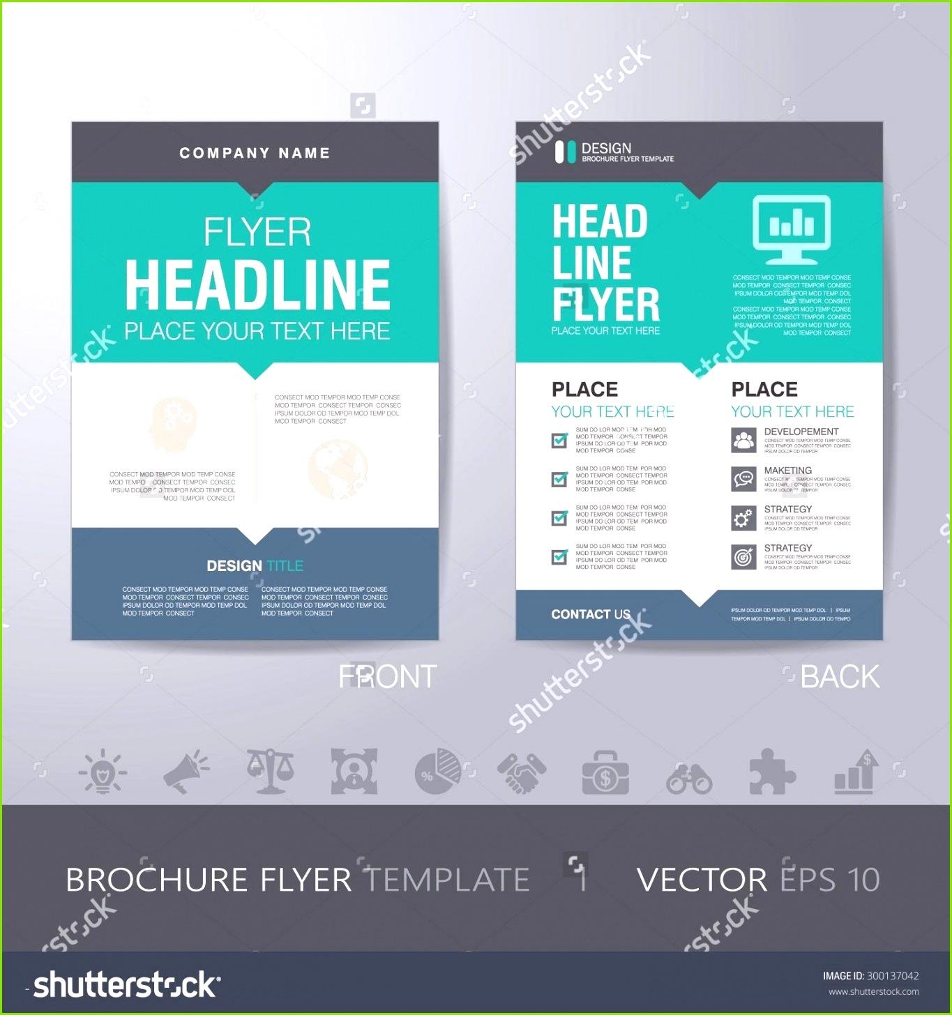 Birthday Flyer Template Word Awesome Flyer Design Vorlagen