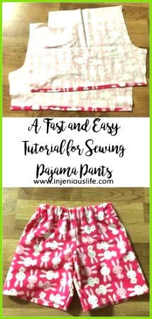 A Fast and Easy Tutorial for Sewing Pajama Pants
