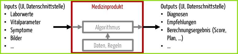 Software unterscheidet sich von anderen Medizinprodukten durch Schnittstellen Und damit auch klinische Bewertung