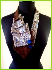 Tie necklace on Etsy $5 00 Selbstgemacht Kette Alte Krawatten Krawattenquilt Transformers