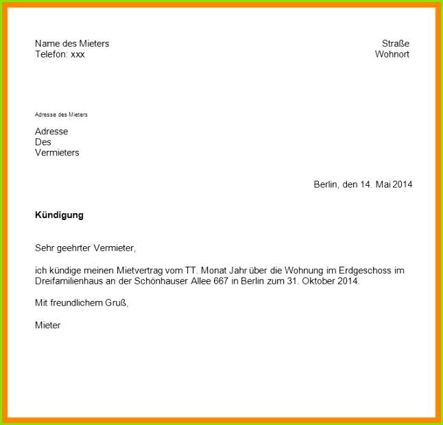 kründigung 450 euro job muster