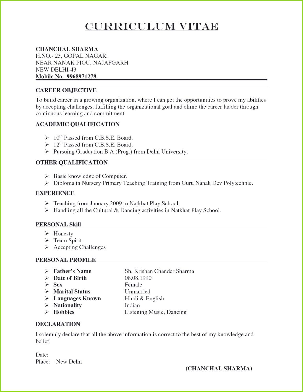 Sample Professional Resume Best Most Updated Resume format Fresh I Pinimg 1200x Da 0d Sample Professional Word 2010 Vorlagen – Vorlage Kündigung Verein