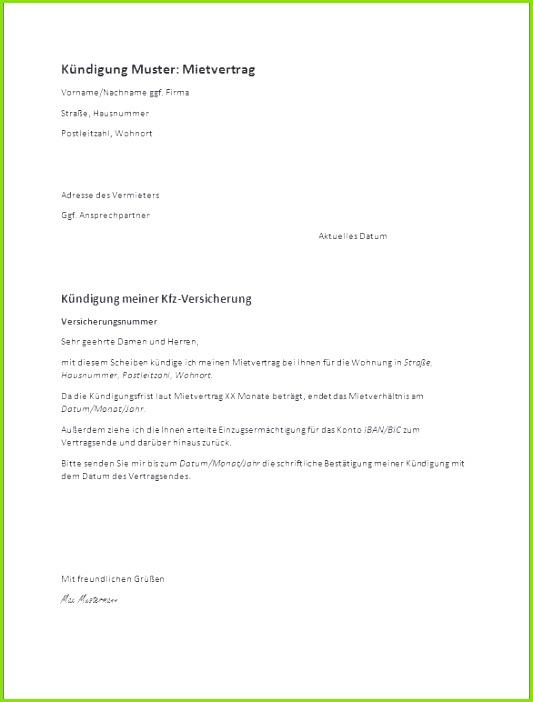 Kündigung Mietvertrag Fristgerecht Besten Der Schön Kündigung Mietvertrag Nachmieter Vorlage