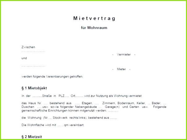 Kündigung Mietvertrag Vorlage Kostenlos Pdf Neu Schön Kündigung Mietvertrag Vorlage Word