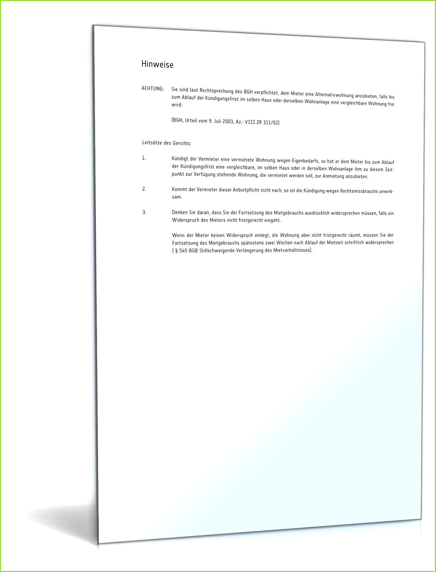 kündigung mietvertrag eigenbedarf muster zum Kundigung Wegen Eigenbedarf Muster kündigung mietvertrag wegen eigenbedarf vorlage kostenlos pdf