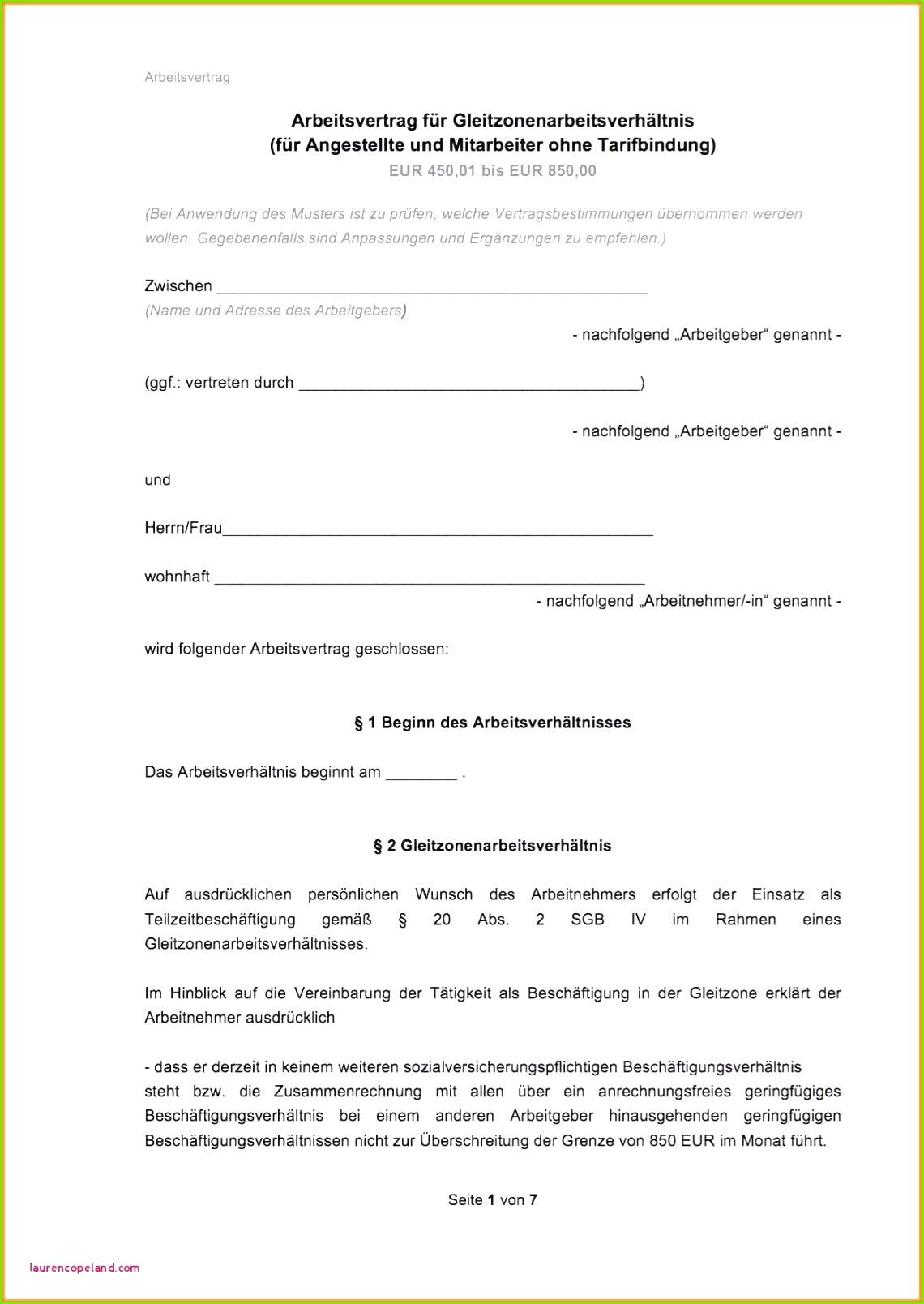 Vereinbarung Zwischen Arbeitgeber Und Arbeitnehmer Luxury Fristlose Kundigung Vorlage Kündigung Arbeitsvertrag Arbeitnehmer