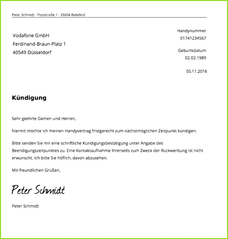 Telekom Kündigung Vorlage Pdf Beratung Frisches Kündigung Beeindruckend Vorlage Kundigung Handyvertrag Telekom