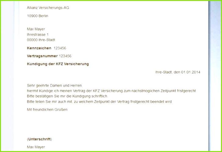 Kündigungsschreiben Versicherung Vorlage Gratis Vodafone Widerruf Vorlage