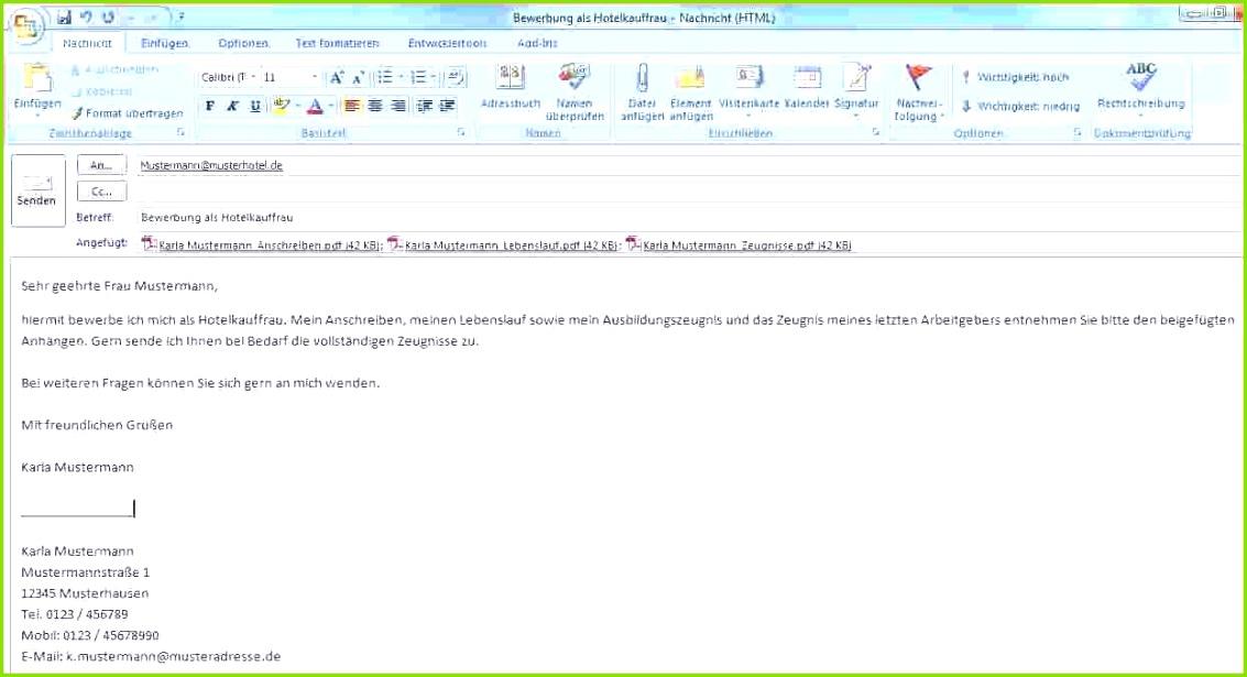 Genial Bewerbung Per Email Vorlage Best E Mail Bewerbung Beispiel