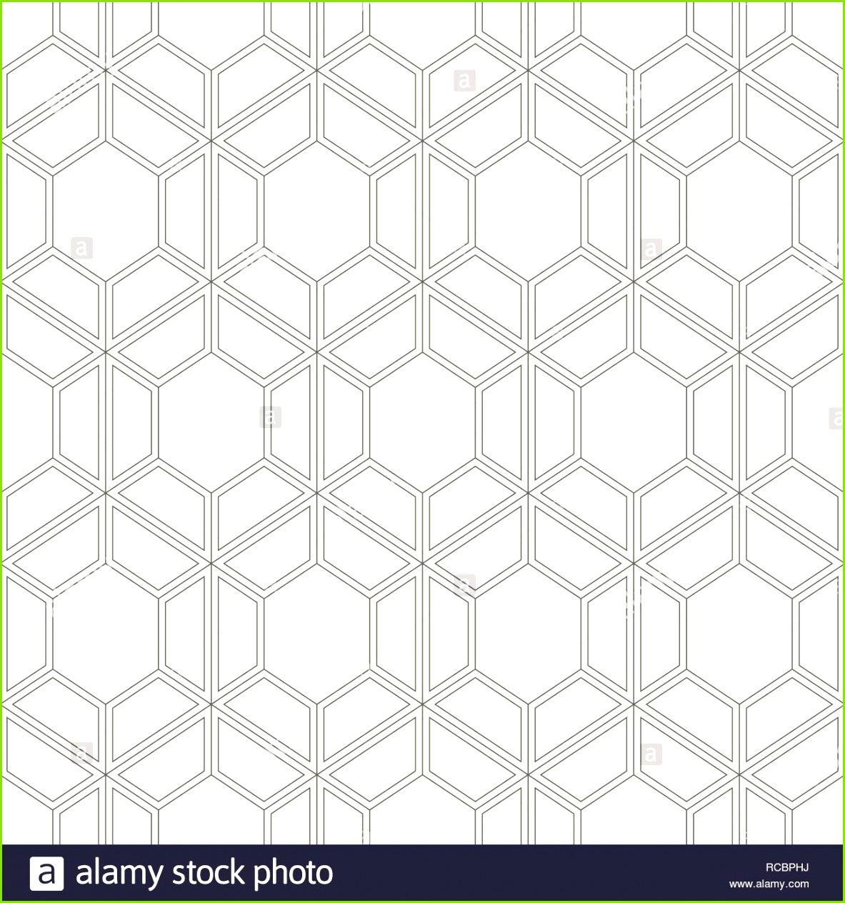 Nahtlose geometrische abstrakte Muster Moderne elegante Textur Wiederholung der geometrischen Hintergrund mit Sechsecken