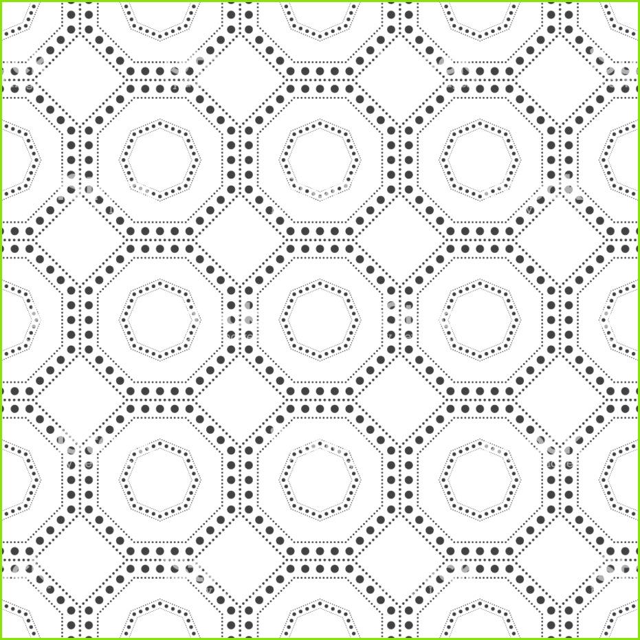Geometrische nahtlose Muster mit Punkten Lizenzfreies geometrische nahtlose muster mit punkten stock vektor art und