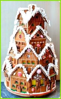 XXXL Lebkuchenhaus für ganze Familie dreamies Backen Für Weihnachten