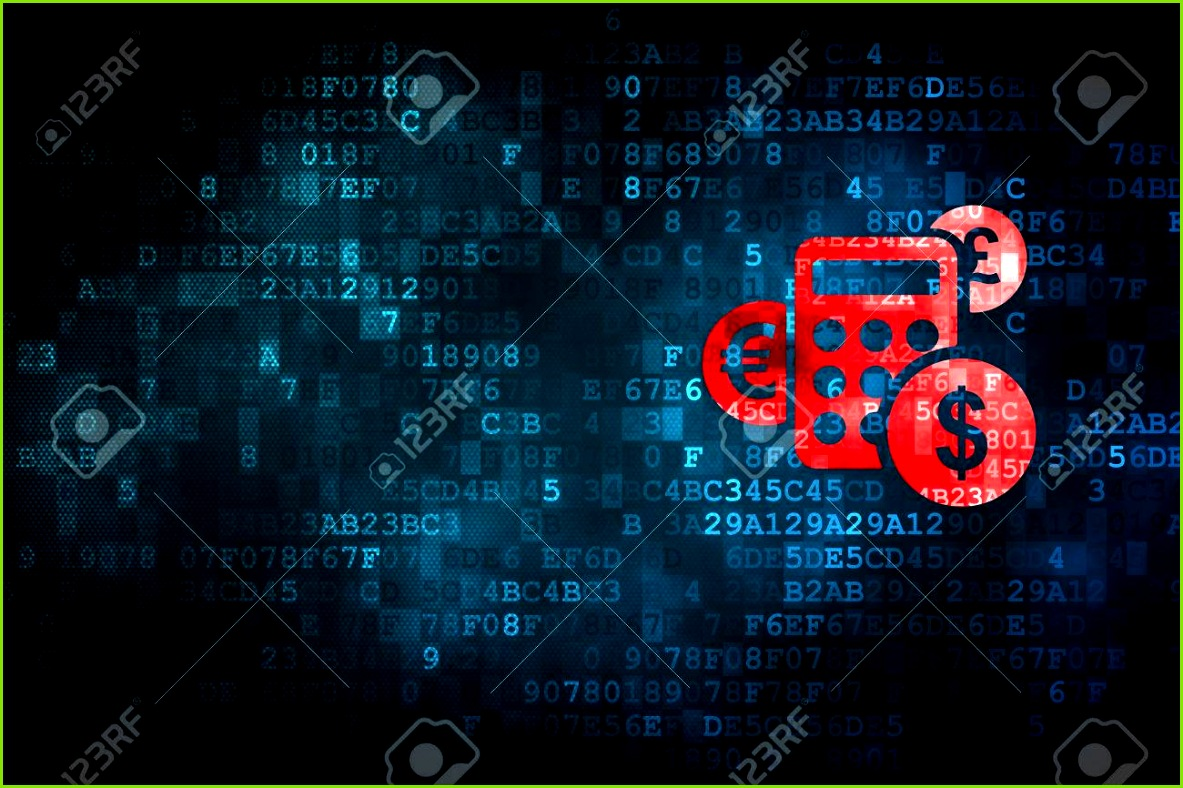 Nachrichten Konzept pixelig Rechnersymbol auf digitale Hintergrund leere Exemplar für Karte Text