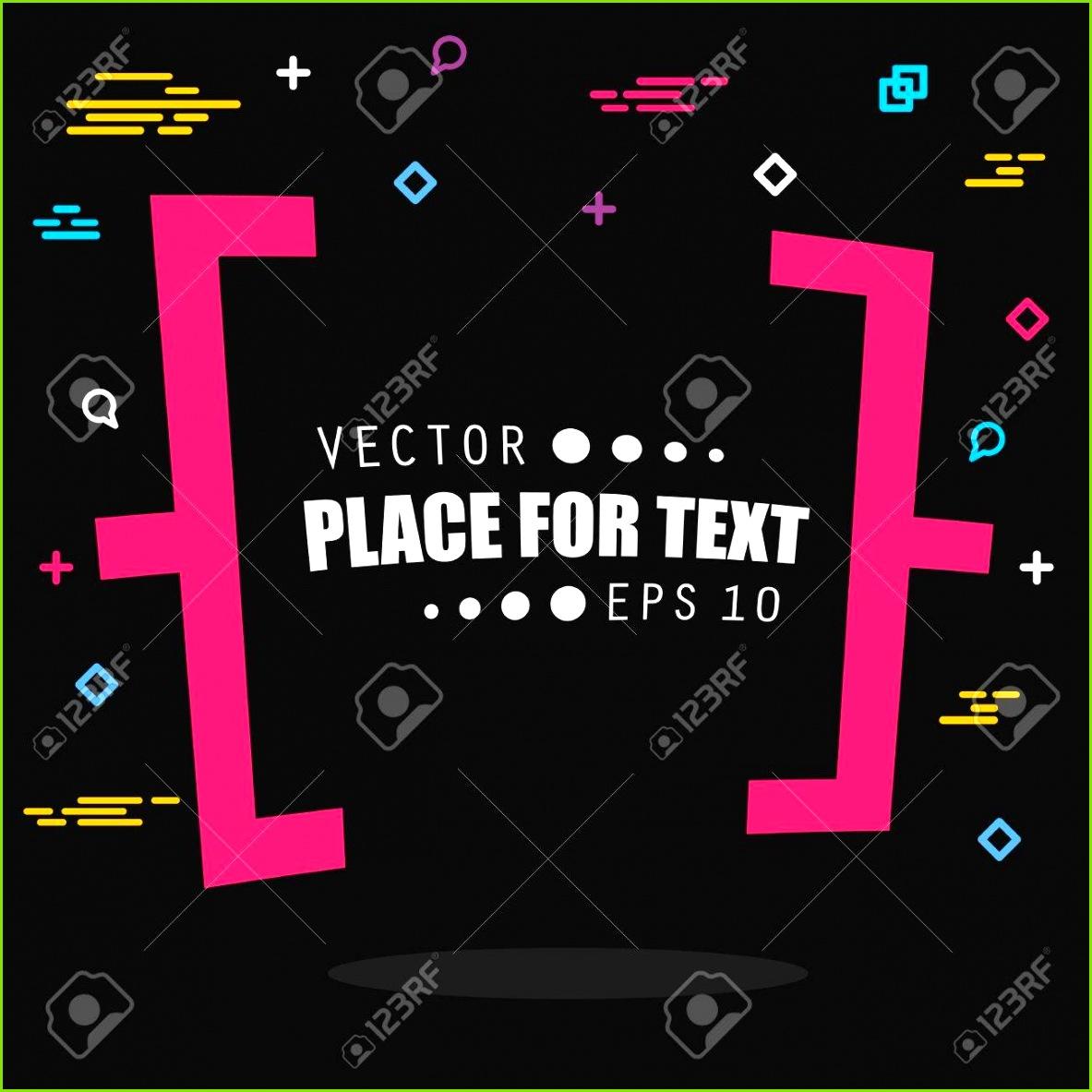 Abstrakt konzept vektor leere rede quadrat zitat text bubble Für Web und Handy
