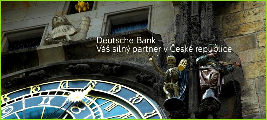 VáÅ¡ siln½ partner v České republice – Deutsche Bank