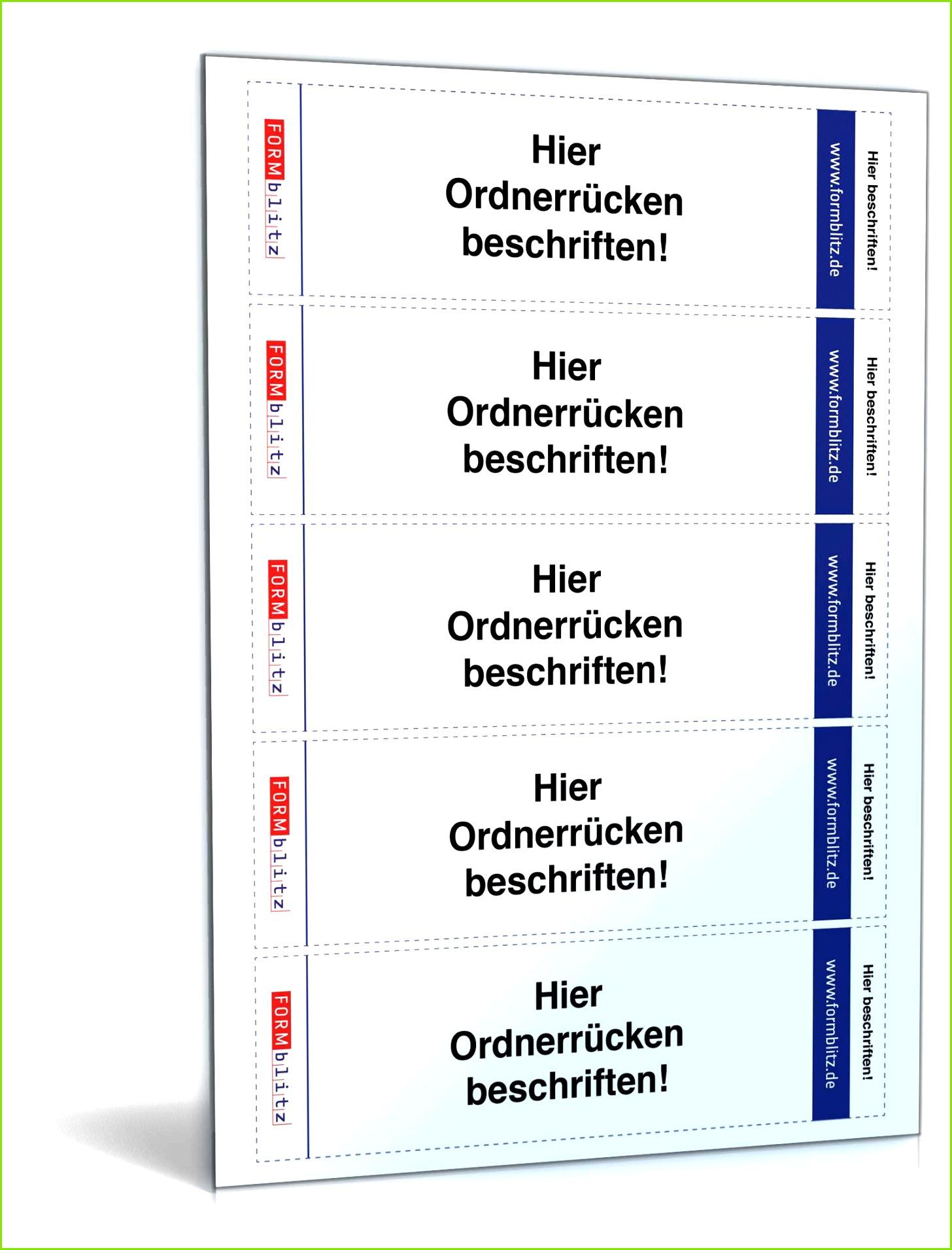 Ordnerrcken Fr Leitz Ordner Hochformat 53 X 188 durchgehend Different Leitz Etiketten Vorlage