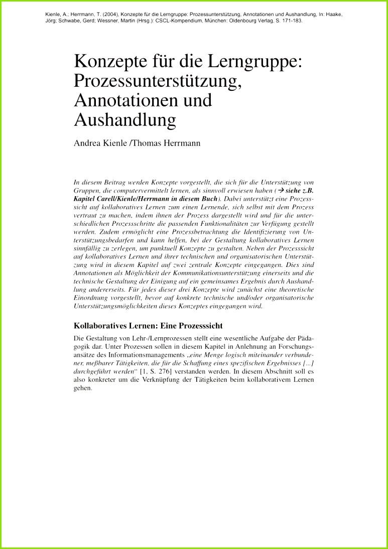 PDF Konzepte für Lerngruppe Prozessunterstützung Annotationen und Aushandlung