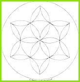 Blume des Lebens Mandala Ausmalbilder Vorlage Mandalas zum Ausdrucken und Ausmalen Nr 10