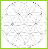 Blume des Lebens Mandala Ausmalbilder Vorlage Mandalas zum Ausdrucken und Ausmalen Nr 9
