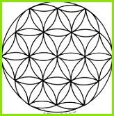 Blume des Lebens Mandala Ausmalbilder Vorlage Mandalas zum Ausdrucken und Ausmalen Nr 6