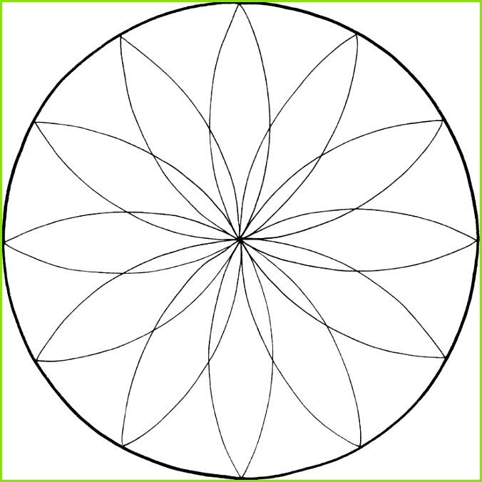 Blumen Schablonen Zum Ausdrucken Kostenlos Mandalas Zum Ausdrucken tolle Blumen Mandala Vorlage Zum Ausmalen