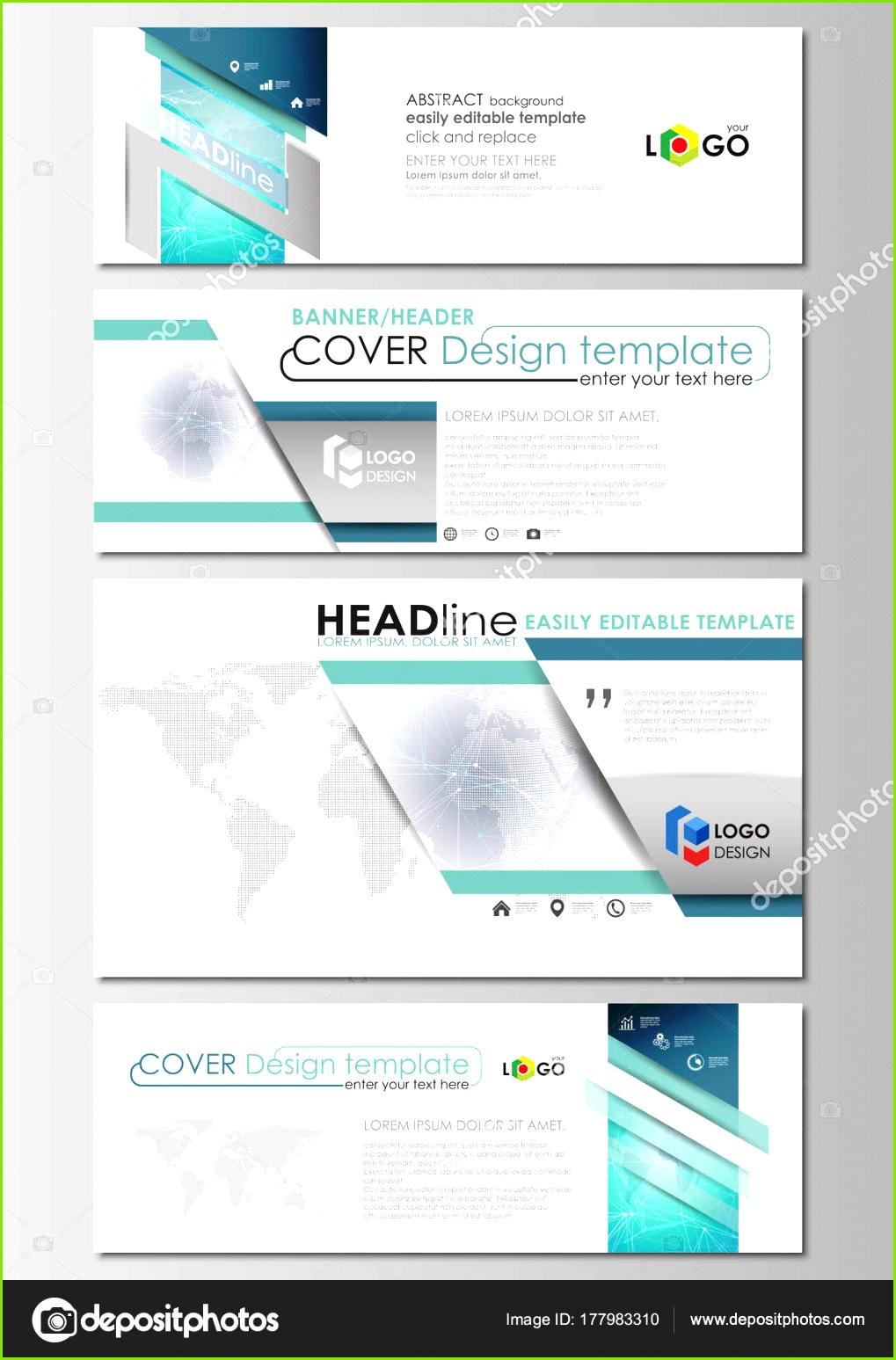 e Mail Header Banner Design Vorlagen in gängigen Formaten Chemie Muster Molekülstruktur Medizin Wissenschaft — Vektor von raevsky