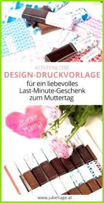 48 Schleifen für Merci Schokolade zum Ausdrucken um ein liebevolles Geschenk für Mama zum Muttertag selbst