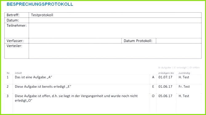 Protokoll Vorlage Word Protokolle kennt jeder Sie haben eine wichtige Funktion Hauptsächlich im