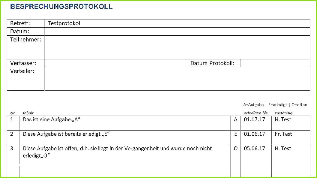 Messprotokoll Vorlage Wasserschaden Der Beste Protokoll Vorlage Word