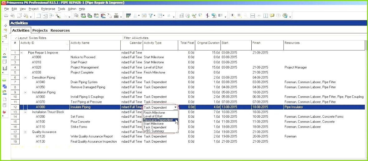 Ms Excel Project Management Template Also Excel Project Timeline Template Project Planning Template Lovely