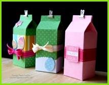 Embalagem para presente caixas tetrapack Geschenke Einpacken Schachteln Mitbringsel Geldgeschenke Basteln Mit