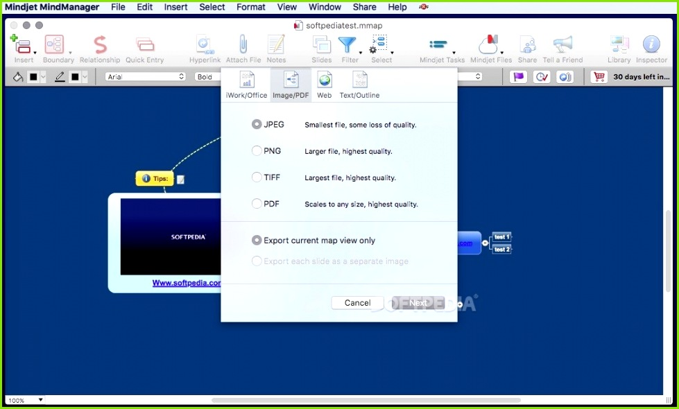 MindManager screenshot 11