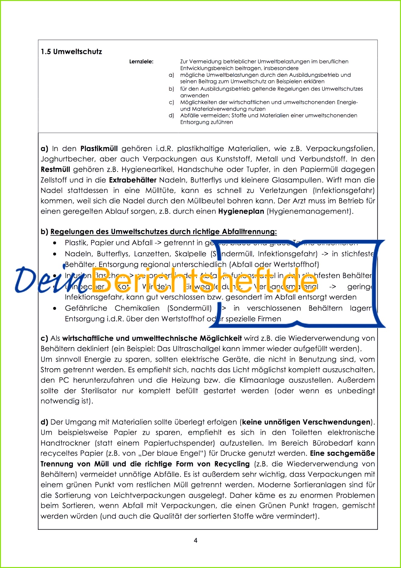 Rapportblatt
