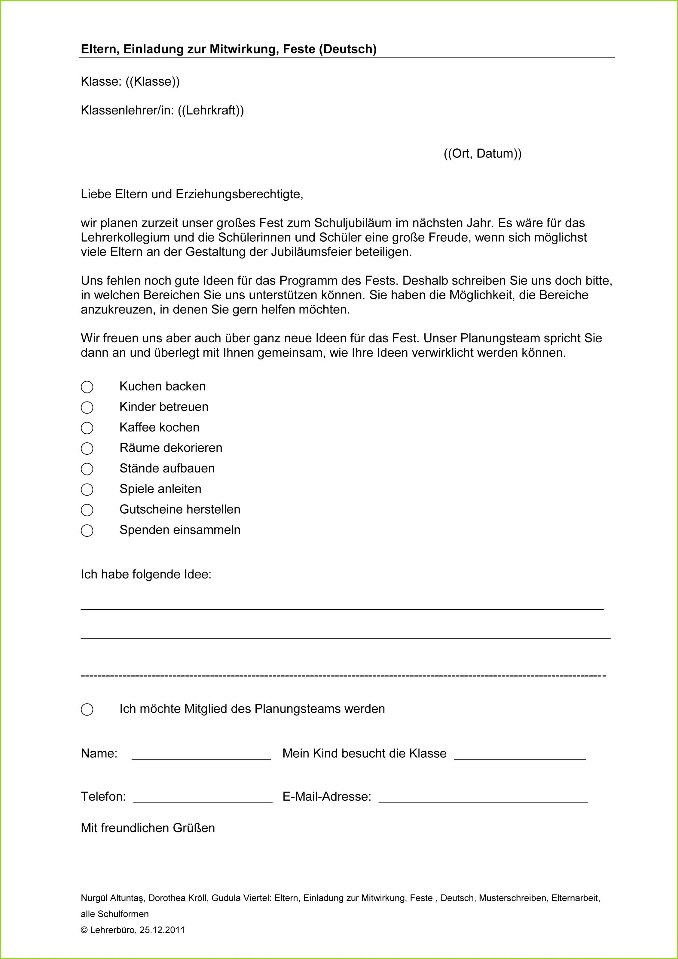 Mitarbeitergespräche Kita Vorlagen Inspirierende Einladung bei Einladung Elternabend Kita