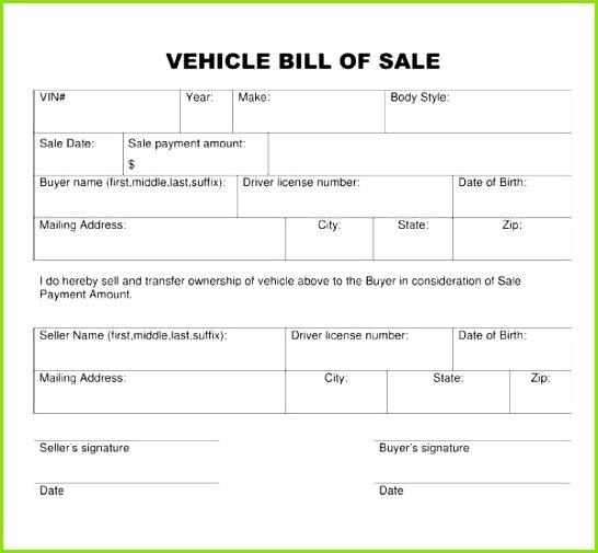 Vehicle Bill Sale Template Word Elegant Bill Od Sale Fastnchrock Vehicle Bill Sale Template Word Cute