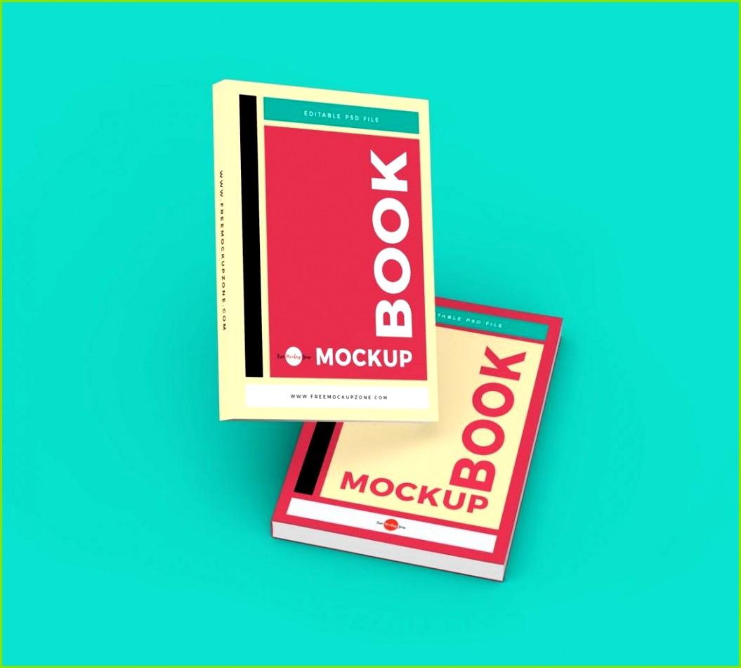 Free Branding Books Mockup PSD