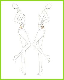croquis Art Créatif Illustration De Mode Croquis De Mode Dessin De Mode