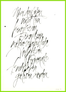 The Berlin Calligraphy Collection Harald Schroeder