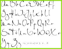 Bildergebnis für fonts calligraphy Kalligraphie Abc Moderne Kalligraphie Alphabet Kalligraphie Buchstaben Kalligraphie Handschrift