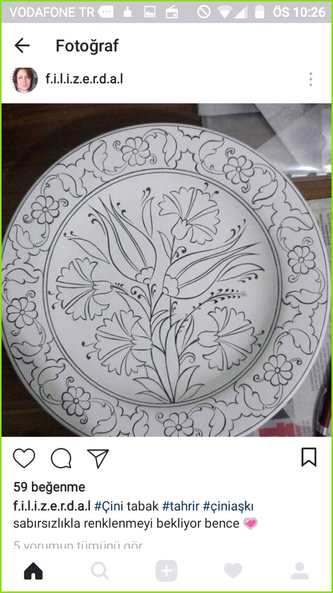 Mosaik Muster Bauern Vorlagen Bemalte Keramik Keramikplatten Türkische Fliesen Kunststunden Geschirr Muster