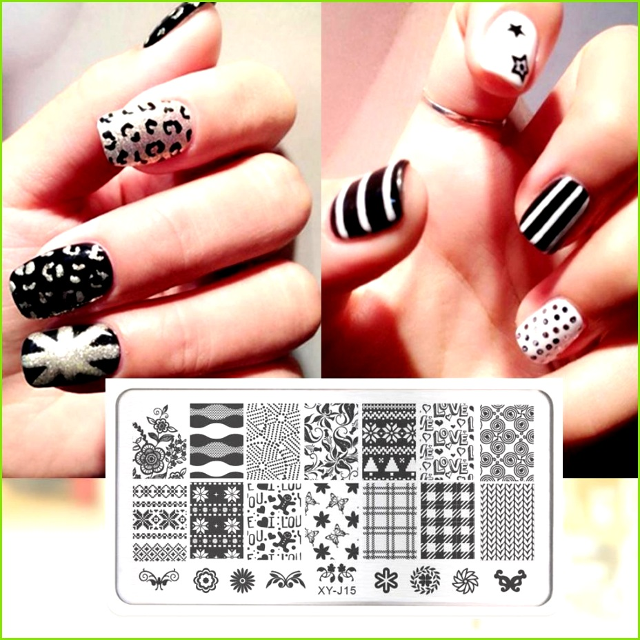 Stamping Template Summer Fruit Rose Nail Art Stamp Image Plates Nail Plate Manicure Tools Art Template Printing Tool Stamp Nail Art Games Nail Art Supplies