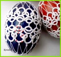 Frywolitki Tatting Chiacchierino jaja frywolitkowe 2013 c d