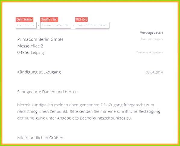 Otelo Adresse Kündigung Neues Otelo Kündigung Vorlage