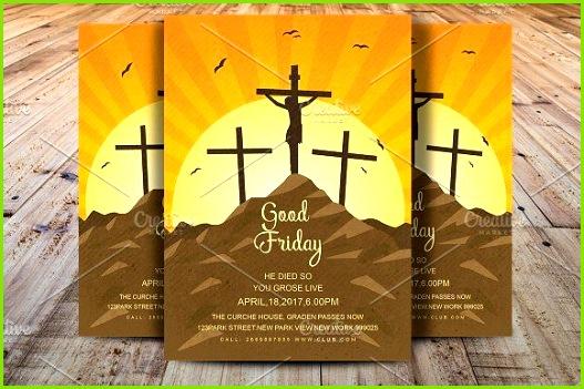 Good Friday Flyer by Madhabi Studio on creativemarket Party FlyerFlyer TemplateGood