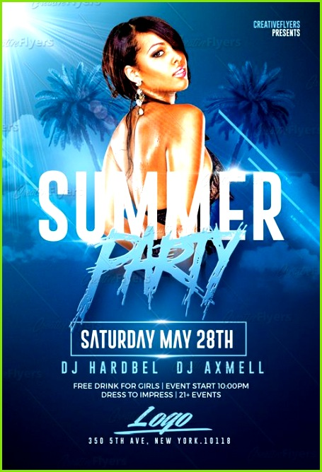 Create flyer that stand out Summer Party Flyer Psd Templates design editable Download and create Summer Psd Flyer Templates