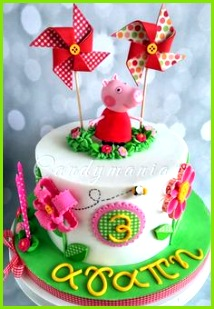 Peppa Pig Party ⚜ themed cake