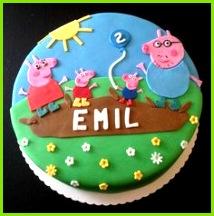 Peppa Wutz cake Birthday