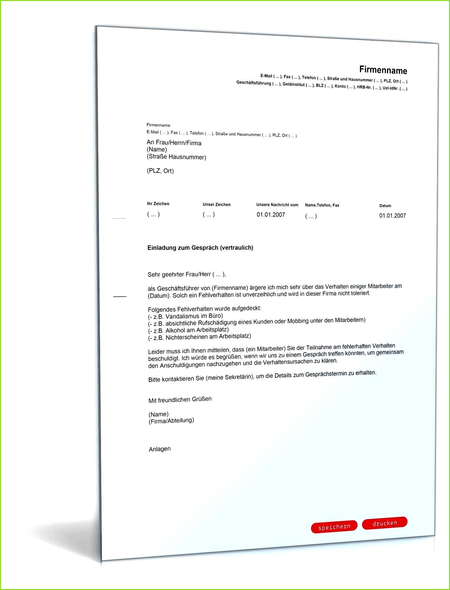 Mitarbeitergespräch Vorlage Word Fabelhaft Einladung Vertrauliches über Einladung Personalgespräch Muster