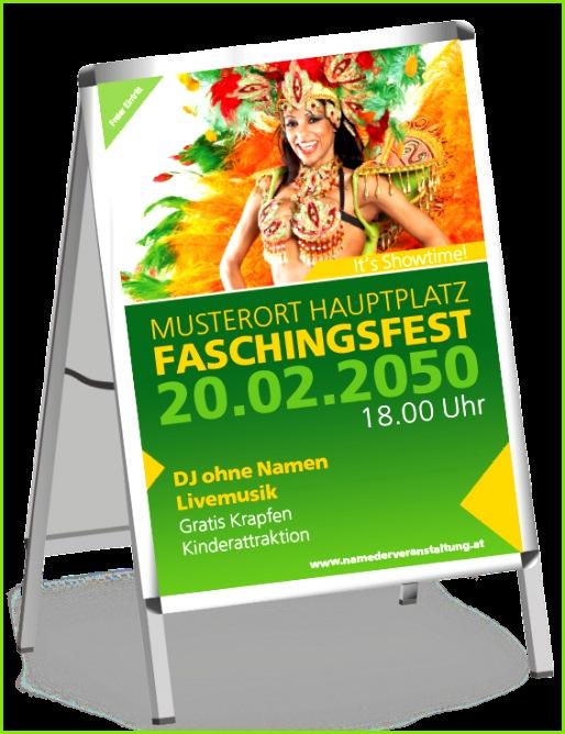 Farbenfrohe Plakate und Poster nach eigenen Wünschen gestalten onlineprintxxl onlinedruckerei gutundgünstig fasching farbenfrohesplakat tänzerin
