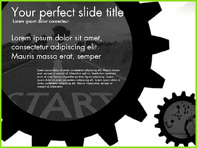 Zahnrad Zahnräder Präsentation Konzept für PowerPoint Präsentationen jetzt herunterladen